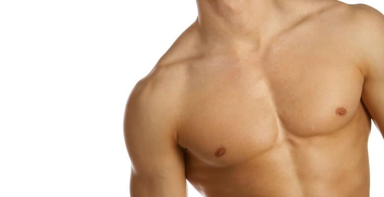 férfi mellplasztika